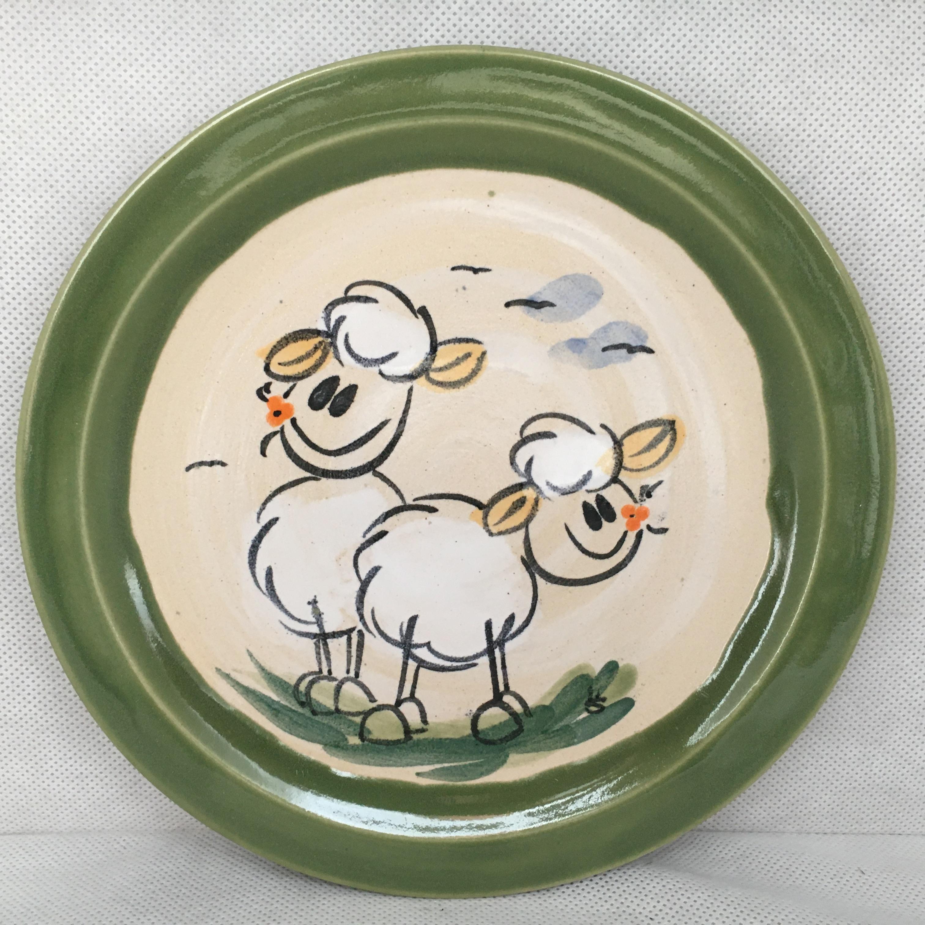 Teller Schaf