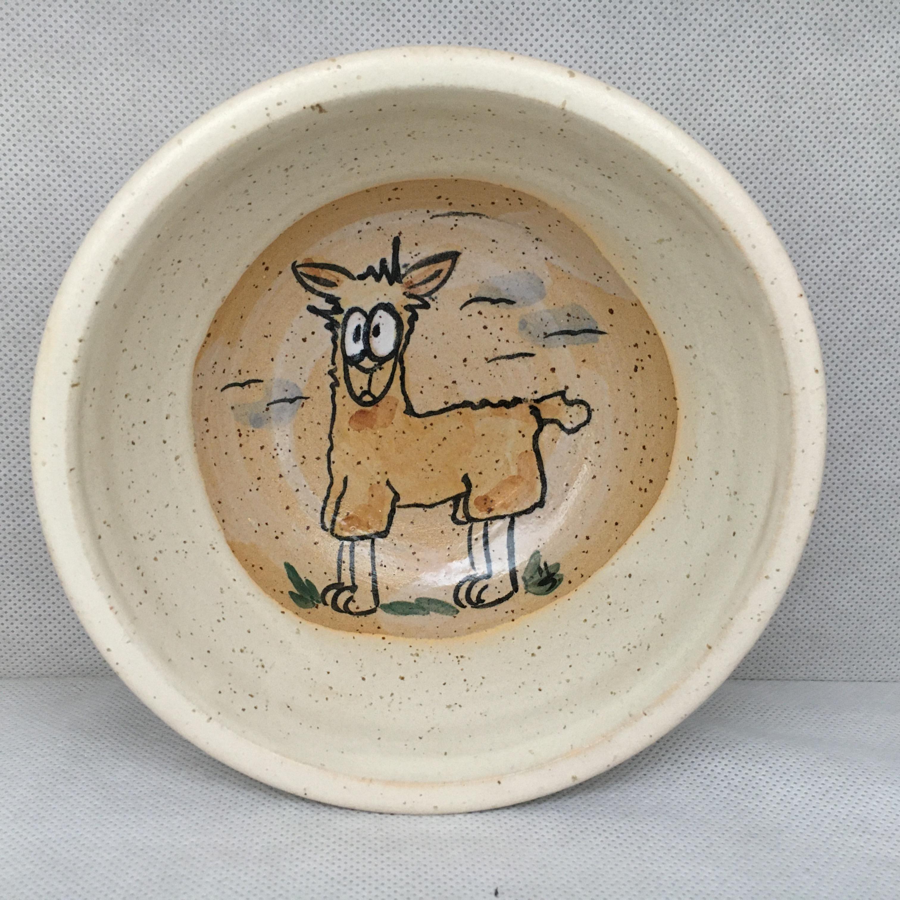 Müslischale Lama