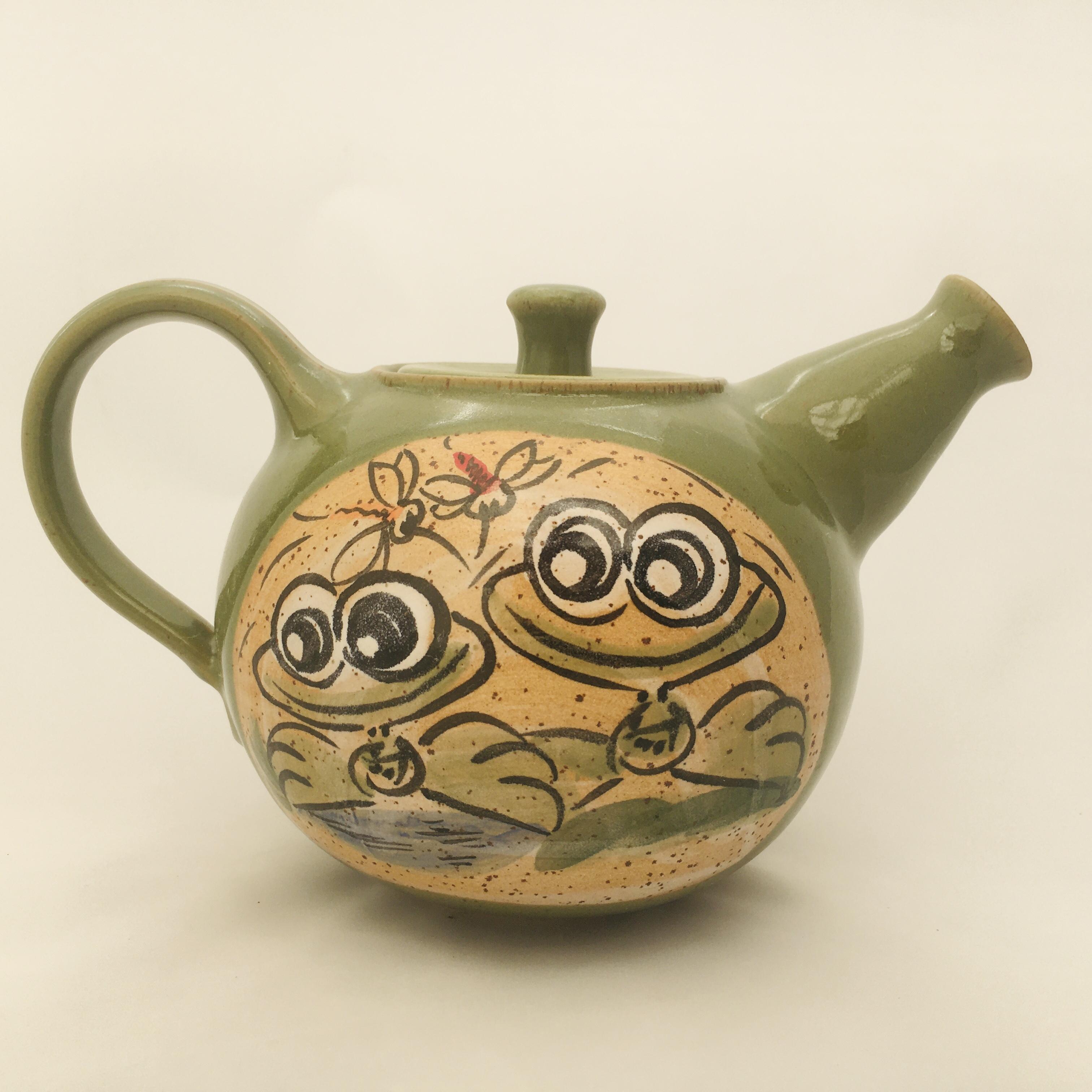 Teekanne Frosch