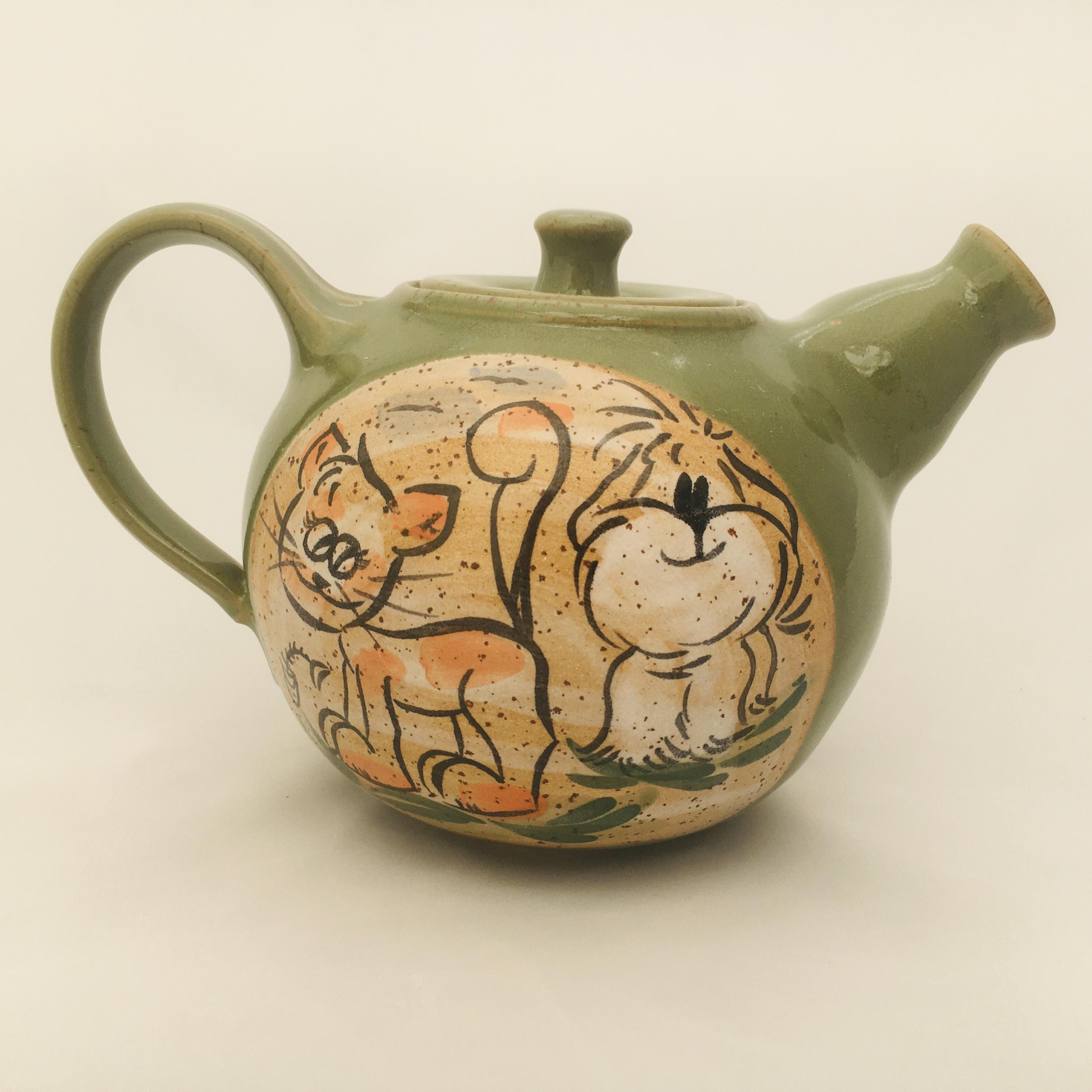 Teekanne Katze/ Hund