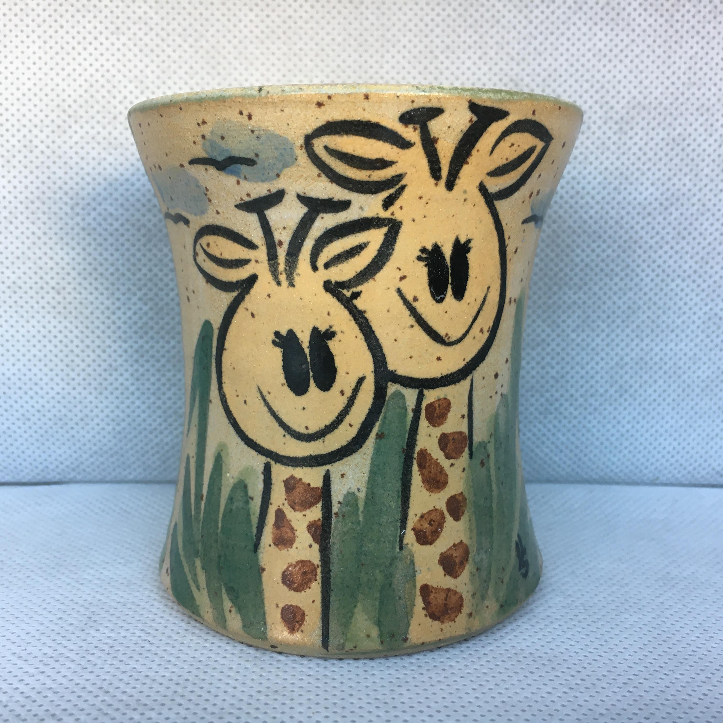 Becher Giraffe