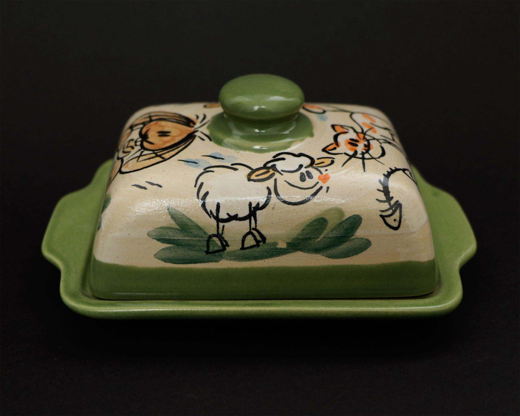 Butterdose Hase/Katze/Schaf